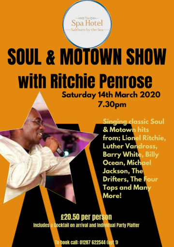 SOUL & MOTOWN SHOW with Ritchie Penrose (1)